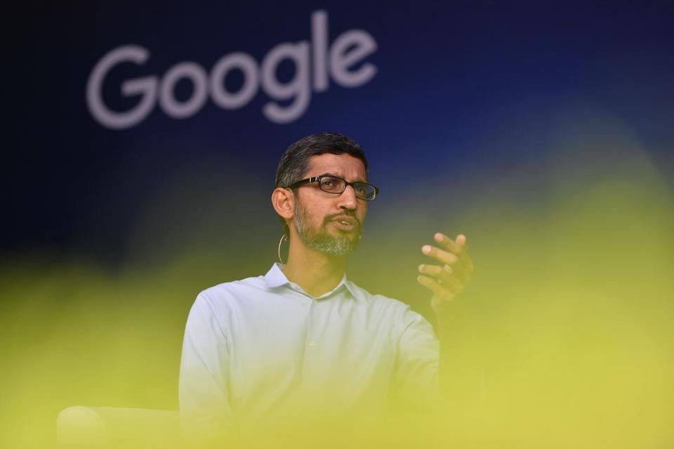 Google's revelation could sharpen the scrutiny of CEO Sundar Pichai when he testifies to Congress on Tuesday.