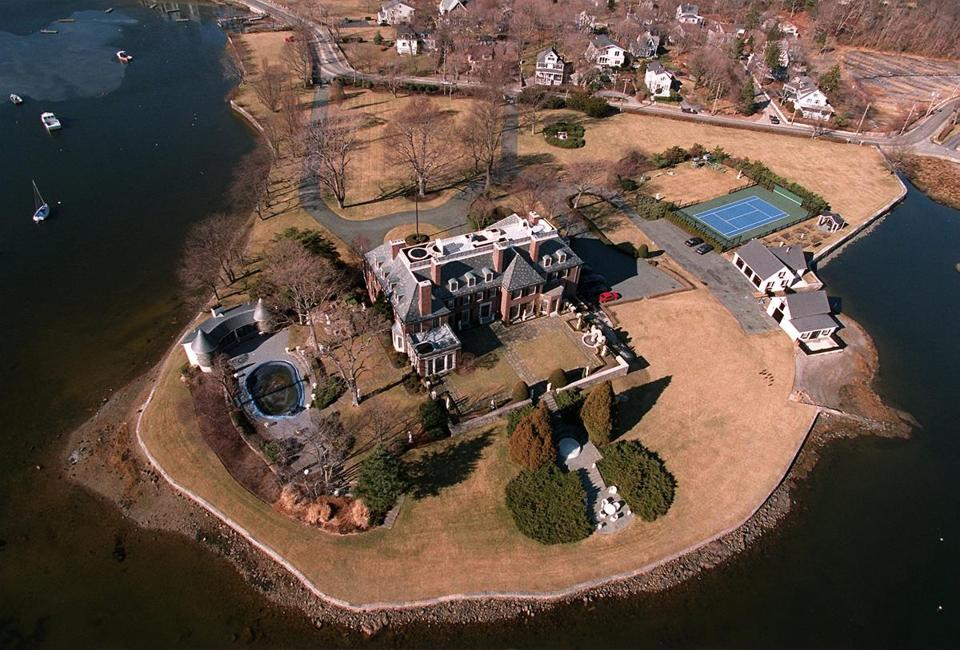 Cohasset....Estate by the Harbor....Peter Roy home