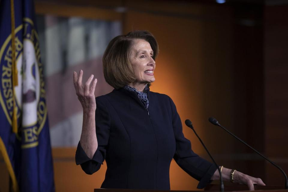 pelosi says the four year maximum for staying speaker is a long rh bostonglobe com