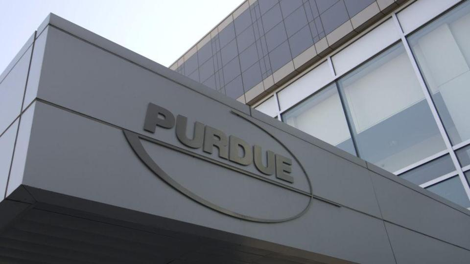 Purdue Pharmaceuticals in Stamford, Conn., faces lawsuits from several cities and states.