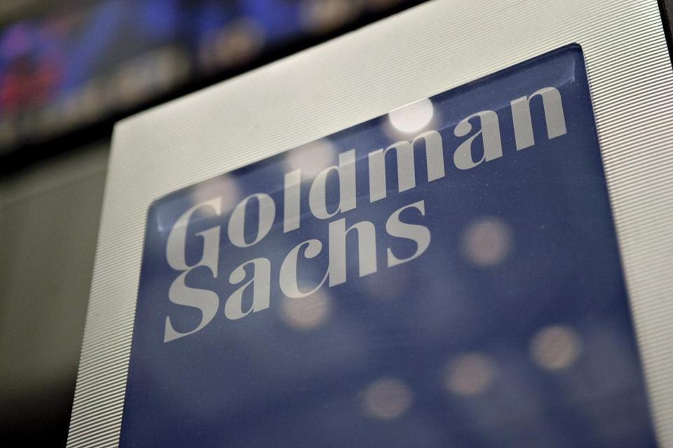 Goldman Sachs. MUST CREDIT: Bloomberg photo by Daniel Acker