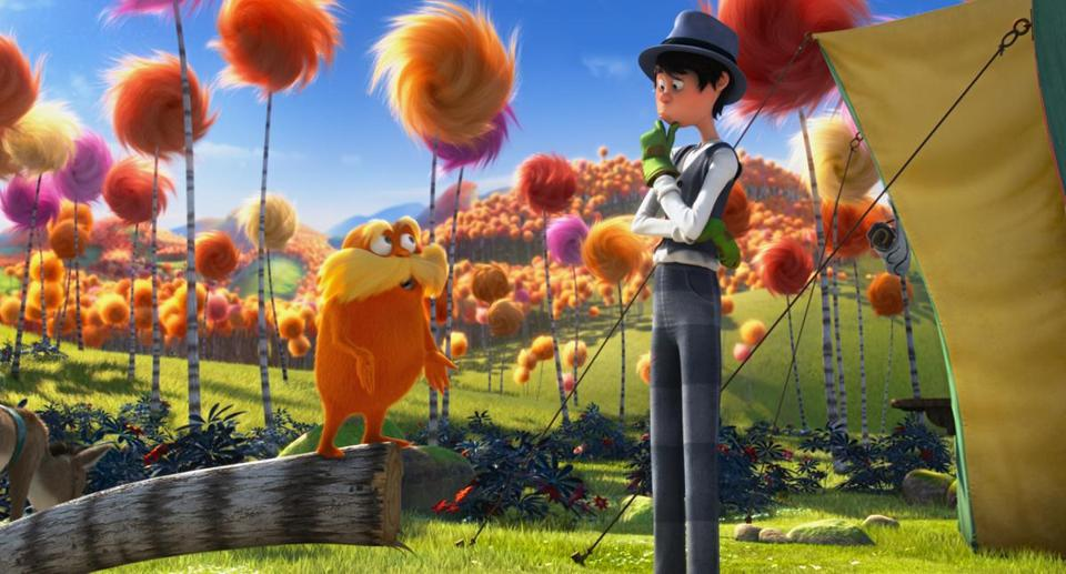 "Dr. Seuss' ""The Lorax"" was adapted into an animated film in 2012."