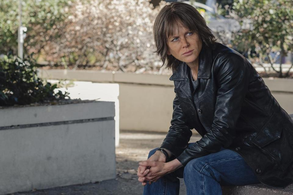 "Nicole Kidman plays an alcoholic detective in ""Destroyer."""