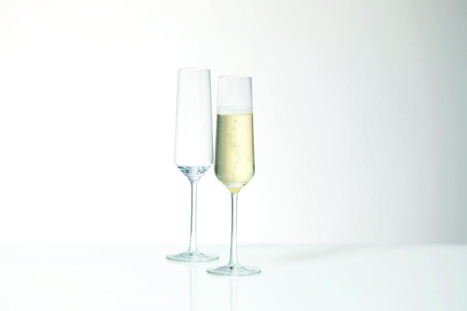 Flutes from Schott Zwiesel's Pure collection