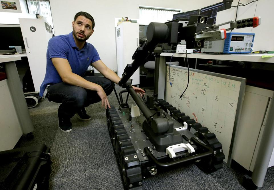 Army Looks For A Few Good Robots Sparks Industry Battle That
