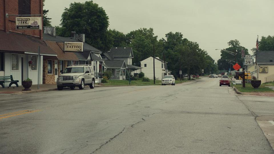 "The documentary ""Monrovia, Indiana"" features the town's Main Street."