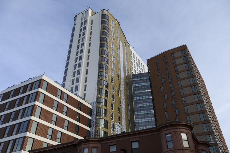 A Northeastern residence hall run by a private developer will open in the fall.