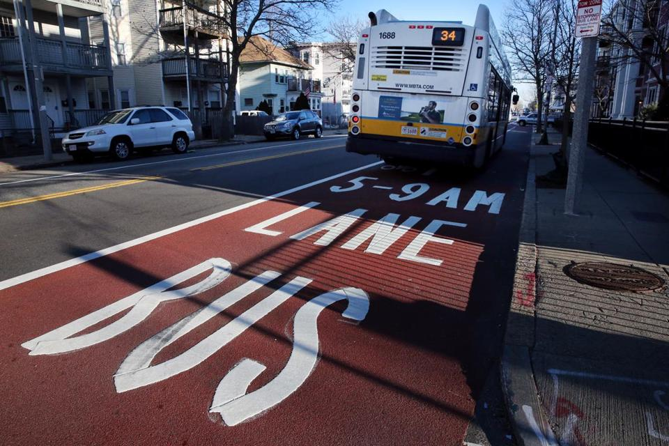 Boston's new bus-only lanes are an improvement. But who will pay for them?