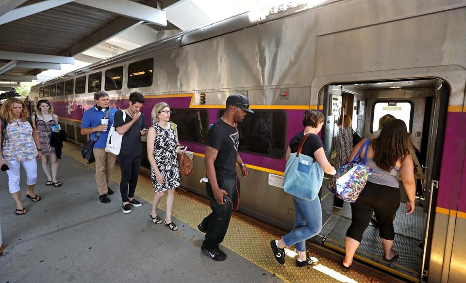 The MBTA is bringing back a popular fare discount this Saturday that gives riders unlimited commuter rail trips during weekends for just $10.