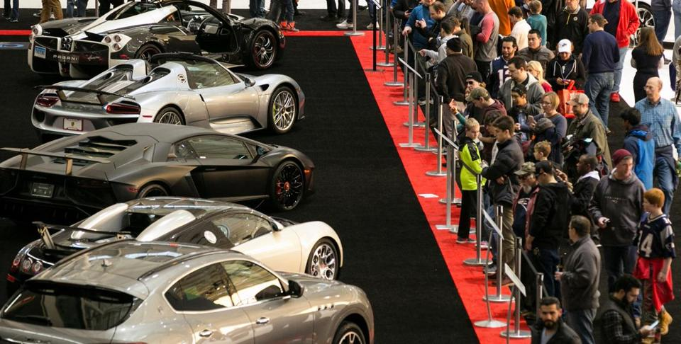 The 2018 New England International Auto Show.