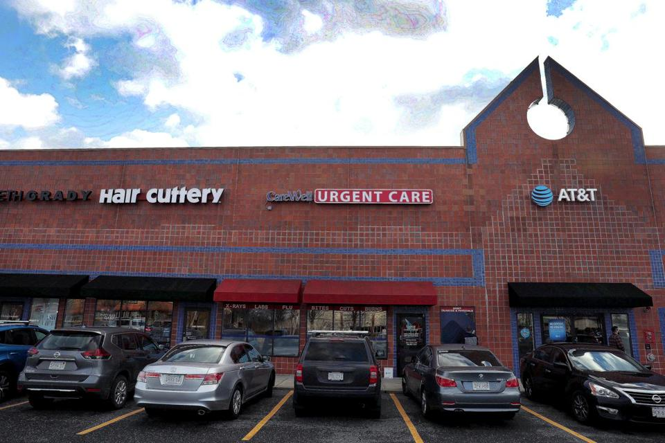 CareWell Urgent Care operates 16 centers in the state, including this one in Framingham.