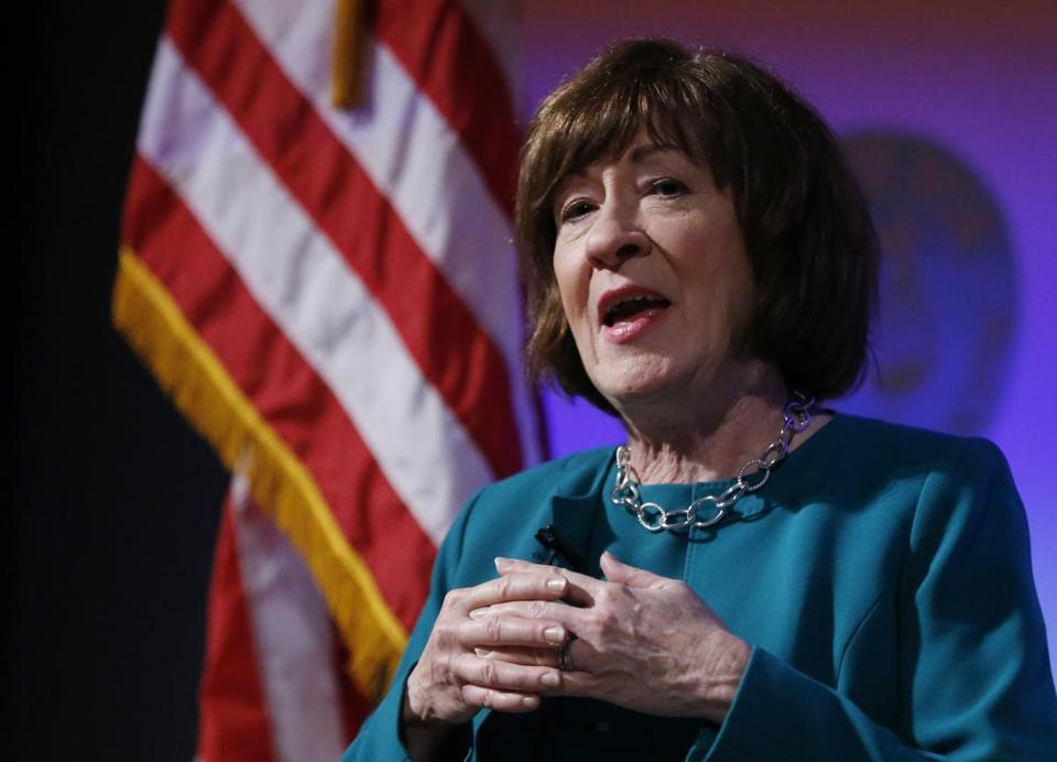 "Senator Susan Collins of Maine said she will make a ""final decision"" on whether to seek another term closer to 2020."
