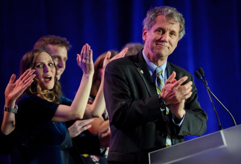 Senator Sherrod Brown celebrated his reelection in November. He's considering a run for the presidency.