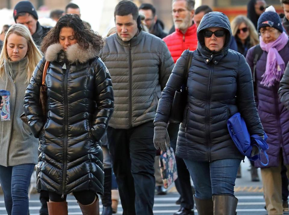 It can seem like the winter uniform for some women in Boston, but what does wearing a puffy coat mean?