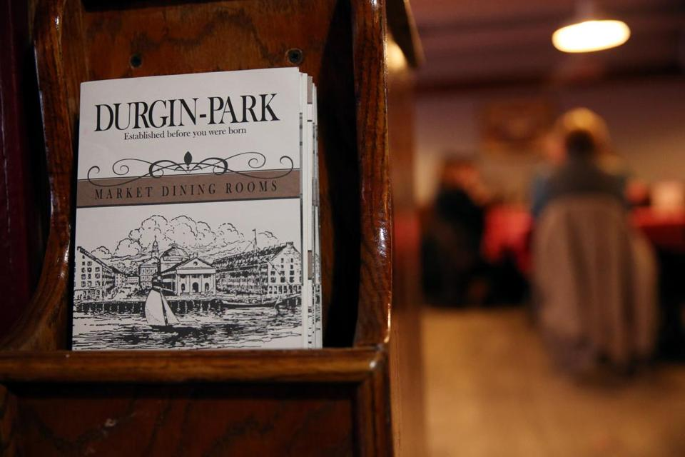 Visitors to Quincy Market had dined at Durgin-Park since the restaurant opened in 1827