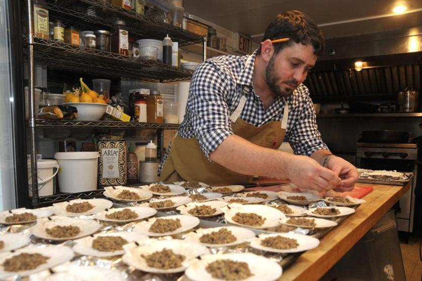 Will Gilson is the chef-owner of Puritan & Company in Cambridge.