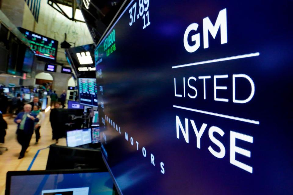 General Motors shares soared more than 7 percent to close at $37.18 on Friday.