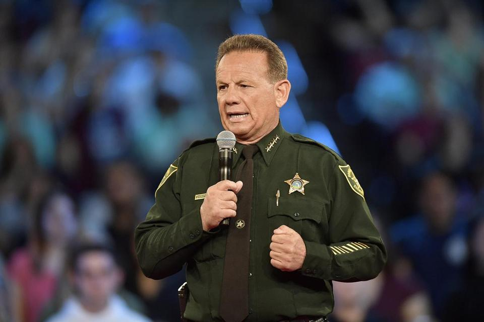 Days after Florida's new governor was sworn into office, he suspended Broward County Sheriff Scott Israel (above).