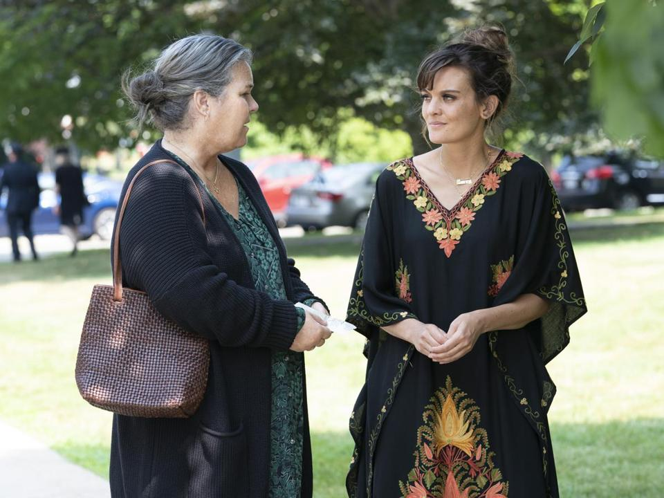 "Frankie Shaw (right) with Rosie O'Donnell in ""SMILF."""