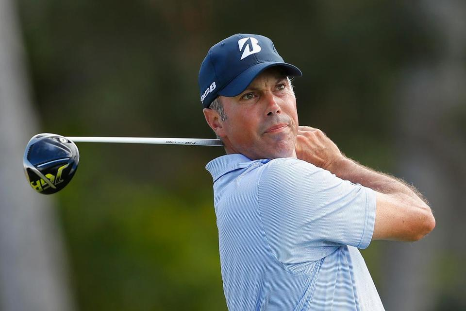 HONOLULU, HI - JANUARY 12: Matt Kuchar of the United States plays his shot from the first tee during the third round of the Sony Open In Hawaii at Waialae Country Club on January 12, 2019 in Honolulu, Hawaii. (Photo by Kevin C. Cox/Getty Images)