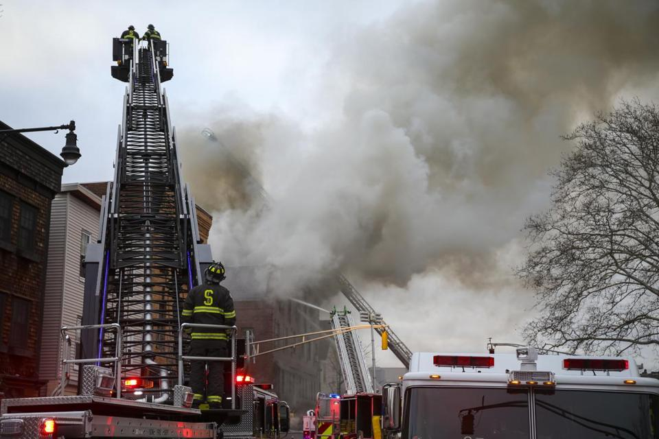 Cambridge Ma  Emergency Personnel Respond To