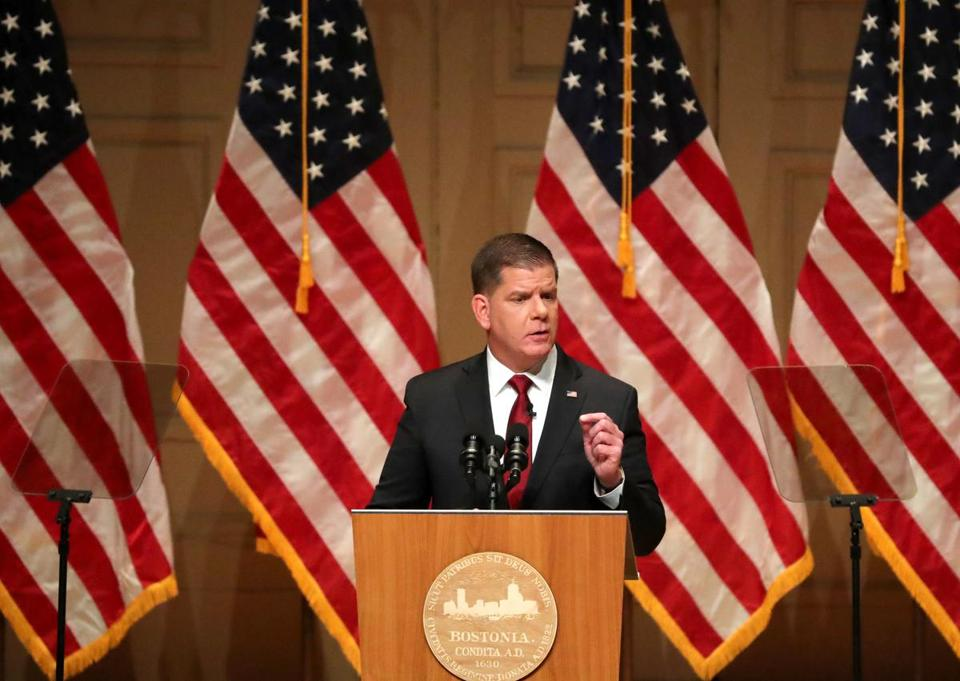 Transcript of Marty Walsh's State of the City speech — with annotations
