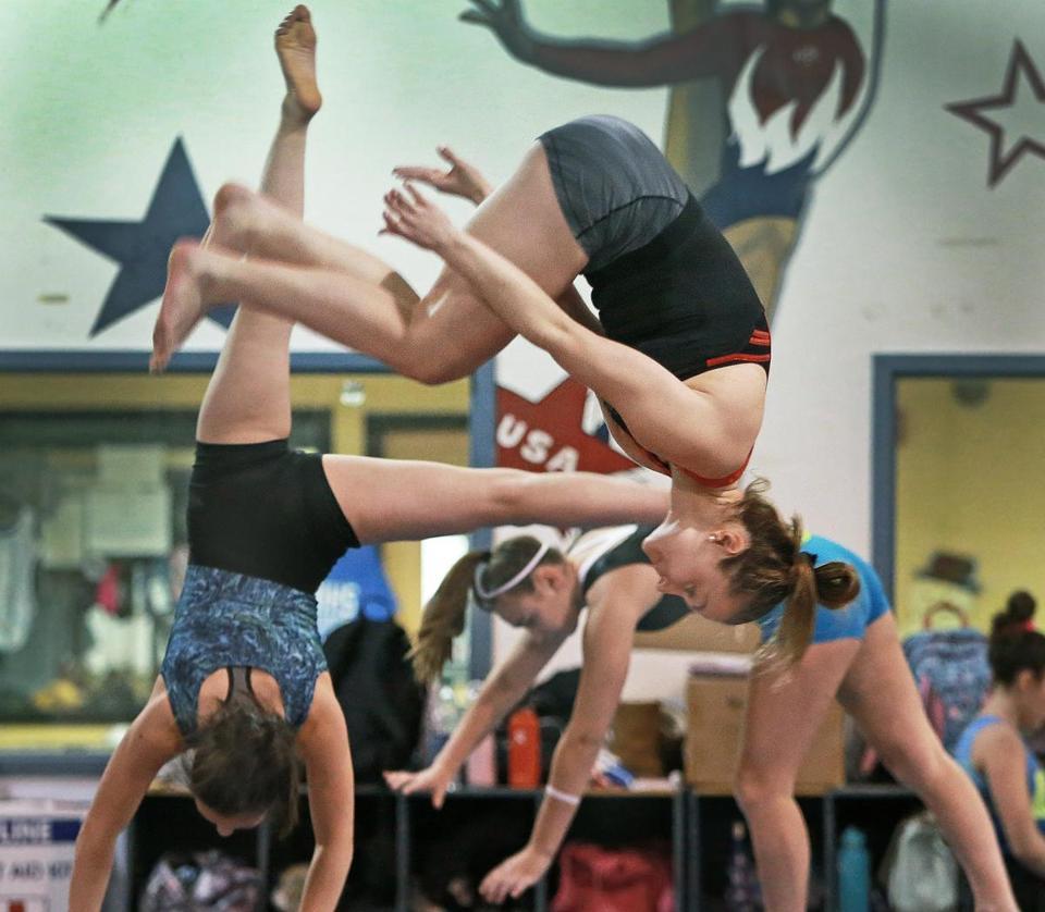 Masconomet Girls Gymnasts Keep Winning