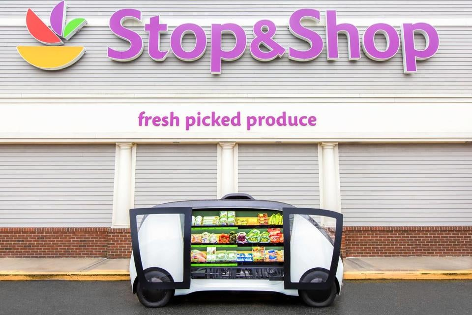 Stop & Shop's stores will have a maximum speed of 25 m.p.h.
