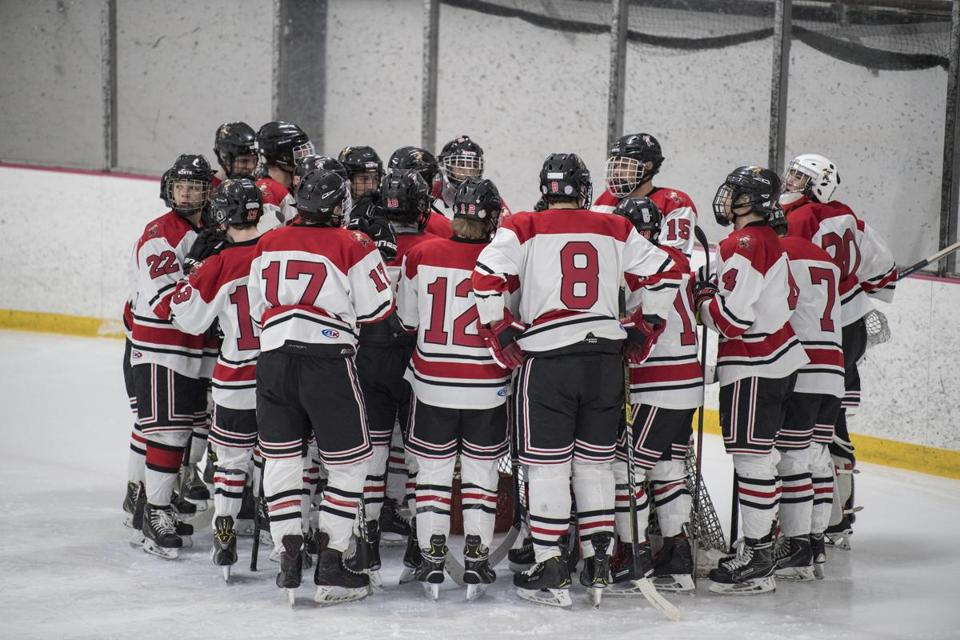 A robust youth hockey program in Quincy has yielded a larger turnout at the high school level, where the Red Raiders  had 33 players turn out, enough to field a JV team for the first time since 2014.