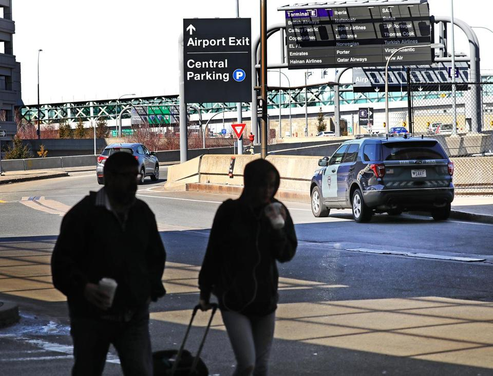 Massport's plans for Logan Airport include reconfiguring the access roads for terminals B and C.