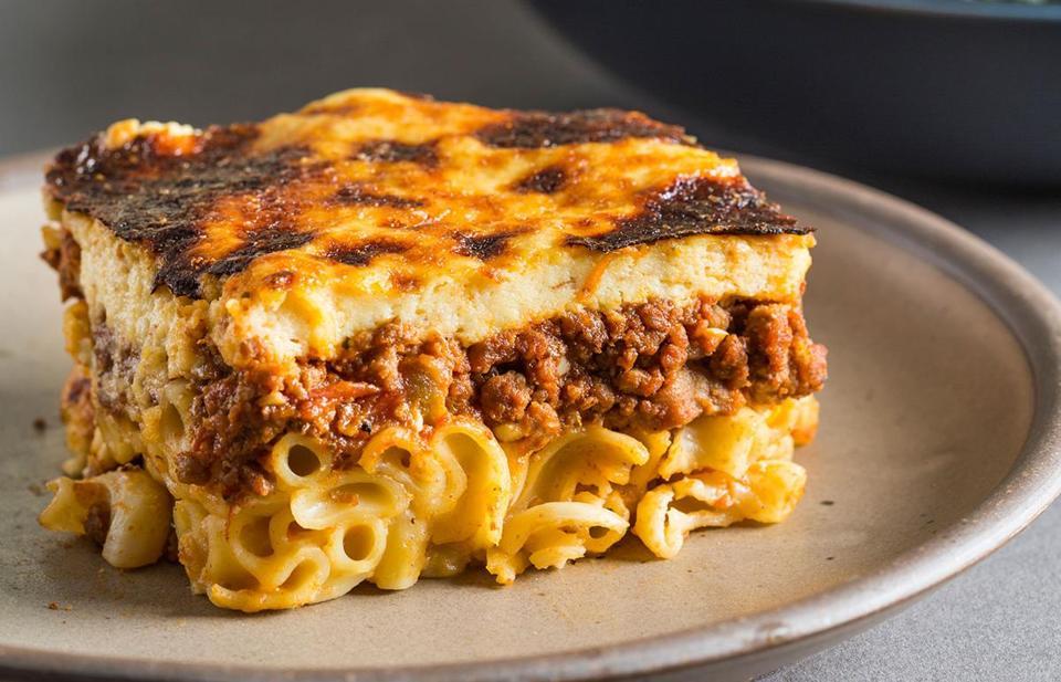 Recipes: My big fat Greek casserole, pastitsio