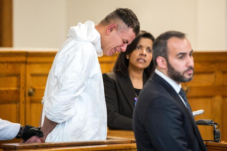 Victor Pena in court on Wednesday.