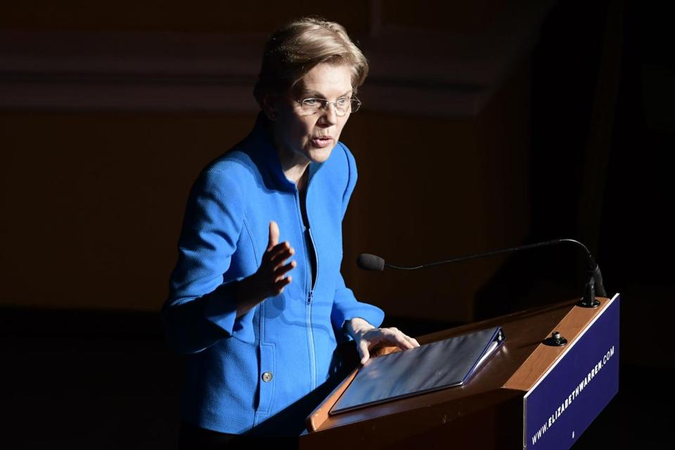 "Senator Elizabeth Warren in Puerto Rico said, ""With Trump, cruelty is not an accident; it is part of the plan."""