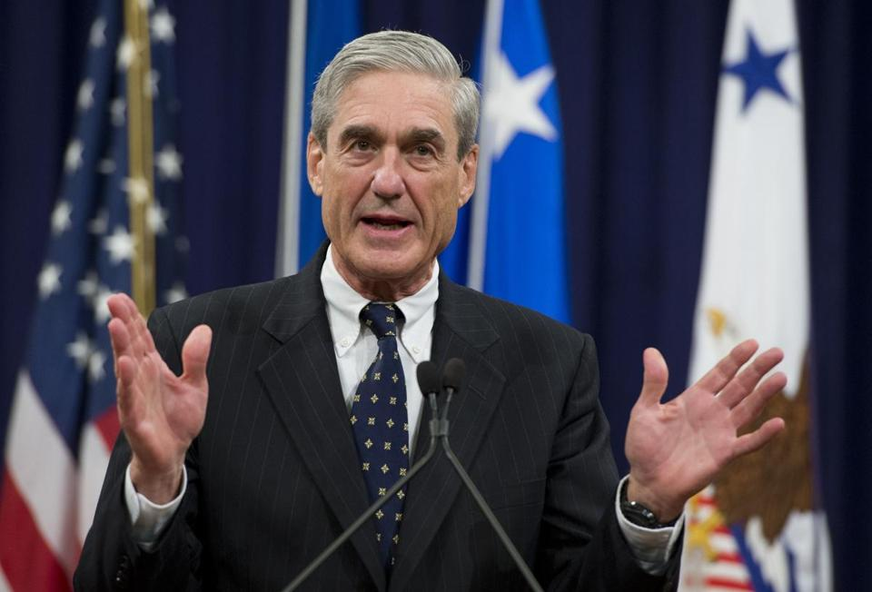 Special Counsel Robert Mueller is investigating Russia's meddling in the 2016 election.