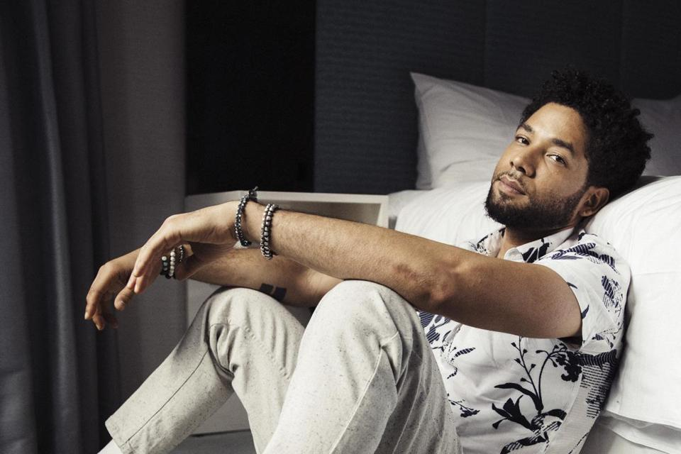 "Jussie Smollett, from the Fox series, ""Empire."""