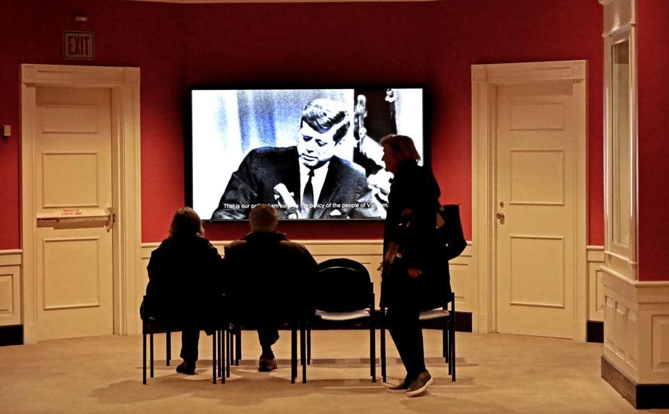 jfk library in dorchester reopens after shutdown ends
