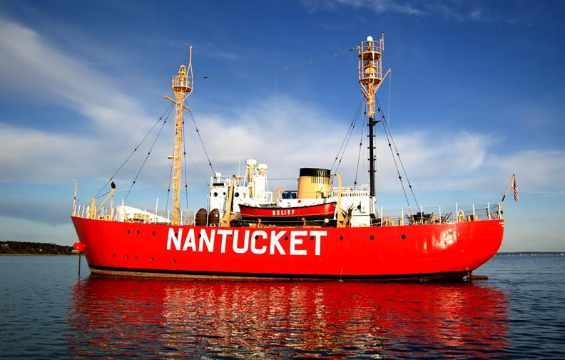 Nantucket lightship for sale as Boston waterfront house