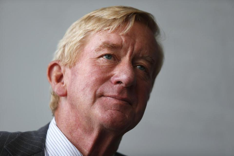 Former governor William Weld in 2016