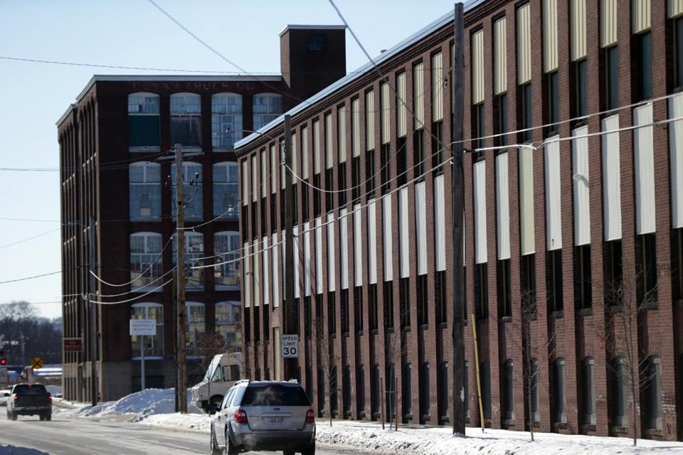 "One way cannabis companies make these old buildings clean and nontoxic for the plant is to retrofit the building with stackable modules or ""plug and play"" grow boxes, which look like shipping containers."