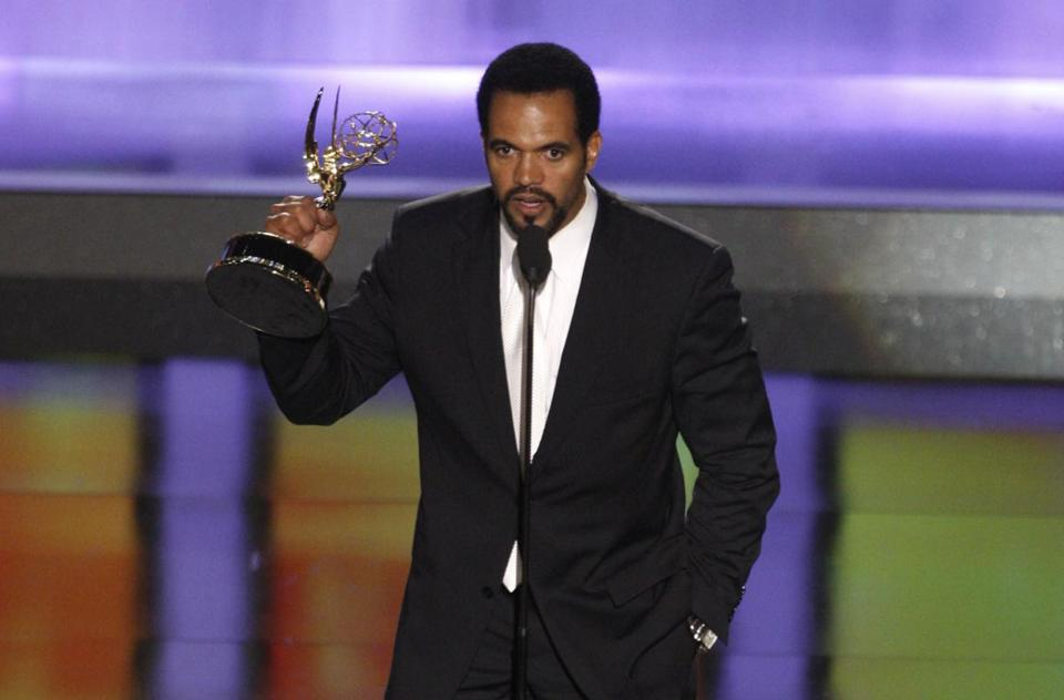 Kristoff St. John accepted the Emmy award for outstanding supporting actor in a drama series in 2008.