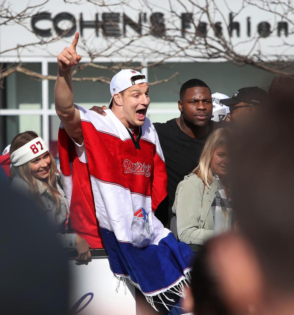 The Many Outfits (or Lack Thereof) Of Gronk