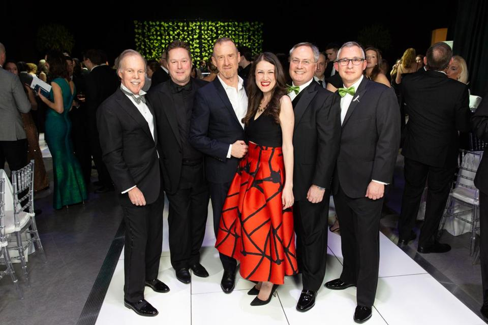 "Chairman of the Board of Trustees Jack Meyer, Artistic Director Mikko Nissinen, William Forsythe, Executive Director Meredith ""Max"" Hodges, Boston Ballet Ball Co-Chairs Dr. Charles Carignan and Michael Cerruti."