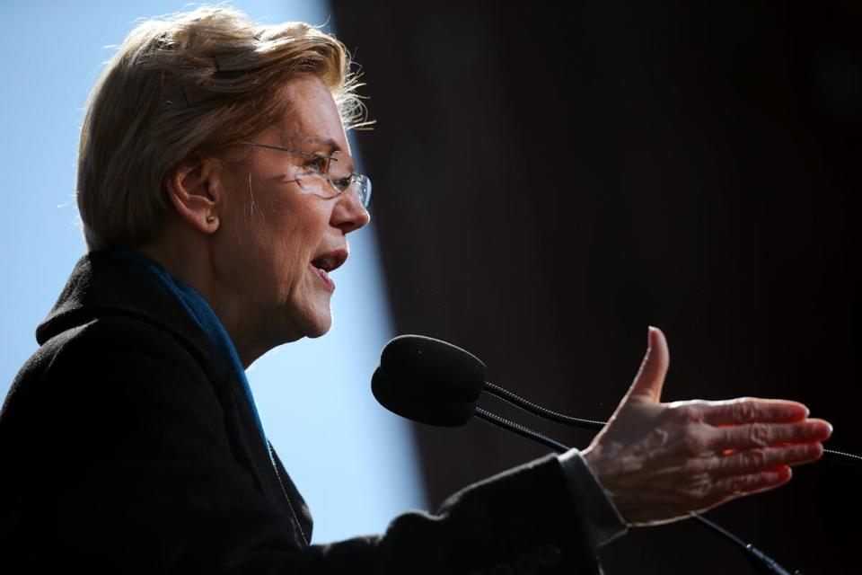 Senator Elizabeth Warren had her presidential campaign kickoff Saturday in Lawrence.