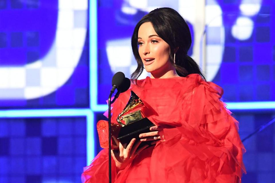 "Kacey Musgraves won the award for Album Of The Year for ""Golden Hour."""