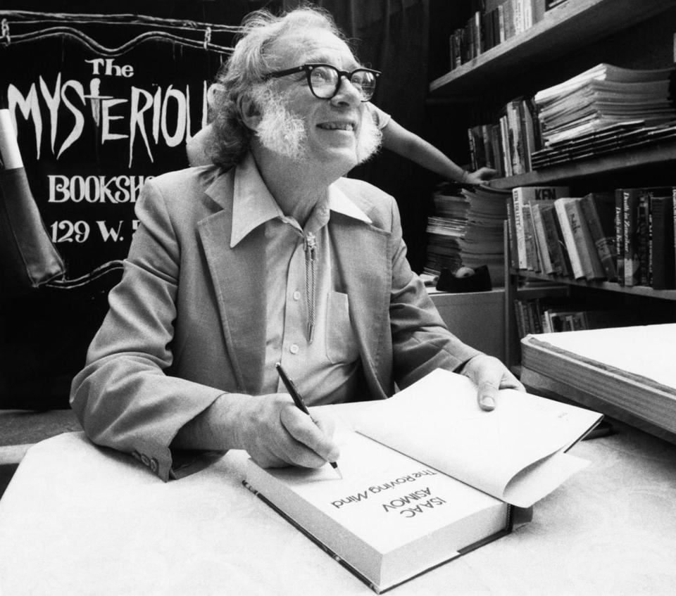 Why the FBI investigated Isaac Asimov