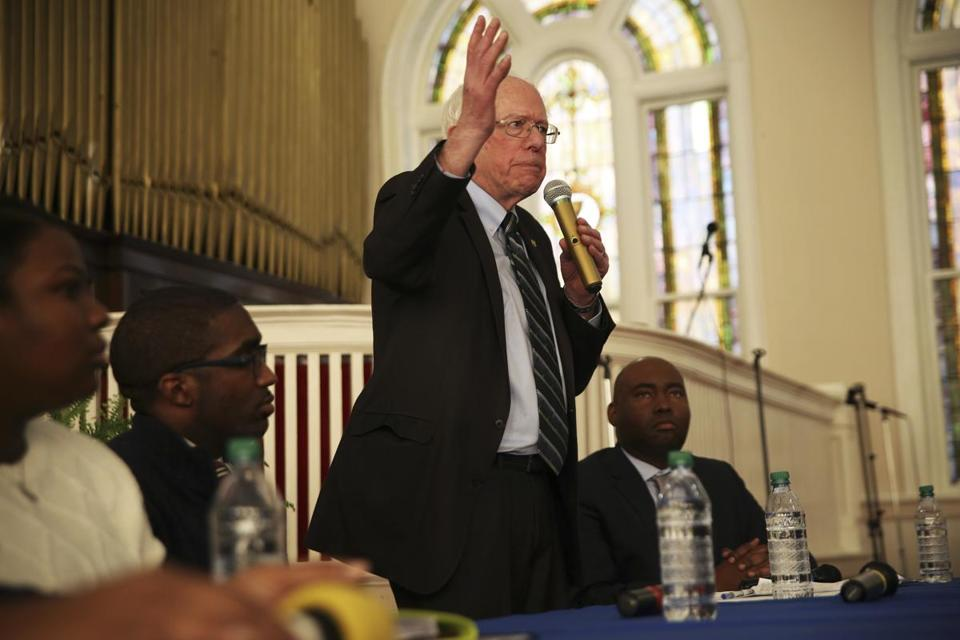 Can Bernie Sanders do better with black voters in 2020?