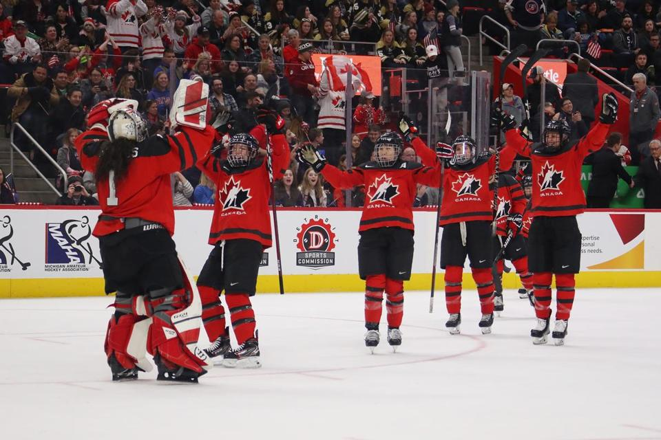 9dea0255b Canadian women beat US to win inaugural Rivalry Series - The Boston ...