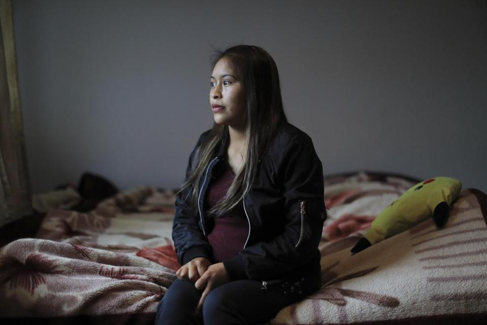 "Silvia Maribel Ramos, who arrived in the United States last month to learn that her husband had been deported to Guatemala and her 3-year-old daughter had been taken, in Oakland, March 1, 2019. Ramos is struggling with the paperwork required to recover Ashley. ""My daughter can't understand. She just weeps and begs to be with us,"" she said. (Jim Wilson/The New York Times)"