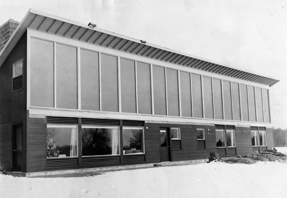 The Sun House, built in the 1940s in Dover, was the first livable building ever heated entirely by the sun.