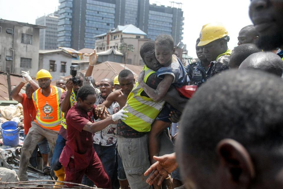 Search For Missing At Nigeria School Building Collapse